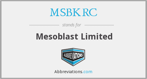 What does MSBKRC stand for?