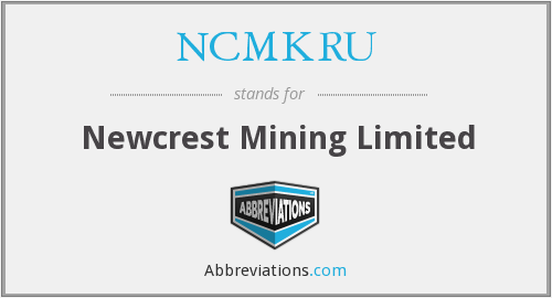 What does NCMKRU stand for?