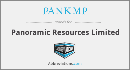 What does PANKMP stand for?