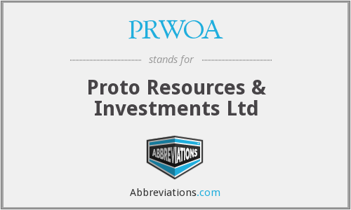 What does PRWOA stand for?