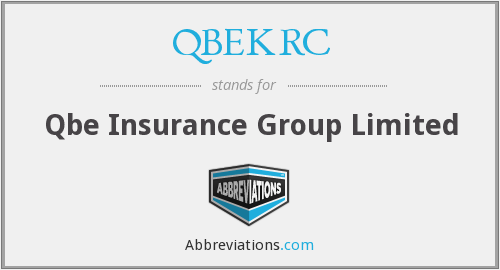 What does QBEKRC stand for?