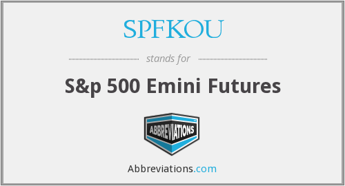 What does SPFKOU stand for?
