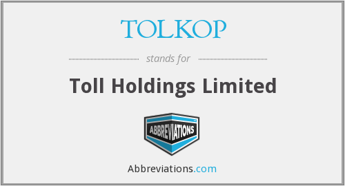 What does TOLKOP stand for?