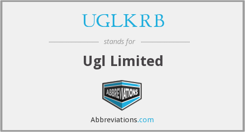 What does UGLKRB stand for?