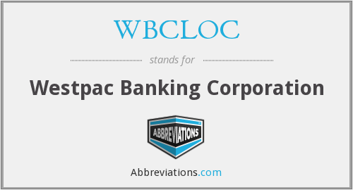 What does WBCLOC stand for?