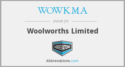 What does WOWKMA stand for?