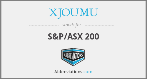 What does XJOUMU stand for?