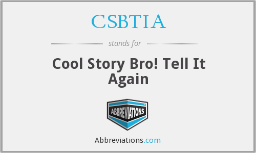 What does CSBTIA stand for?