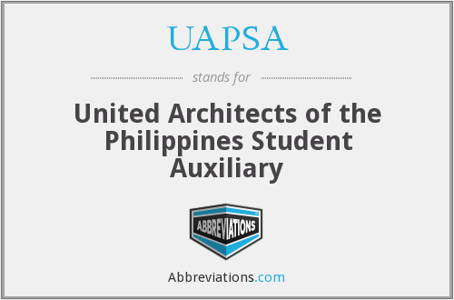 What does UAPSA stand for?