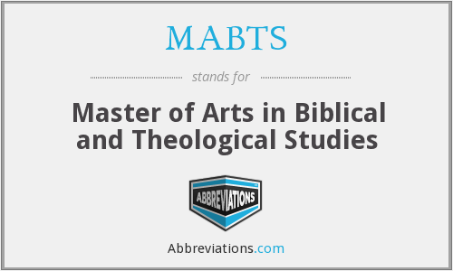 What does MABTS stand for?