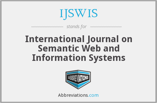 What does IJSWIS stand for?