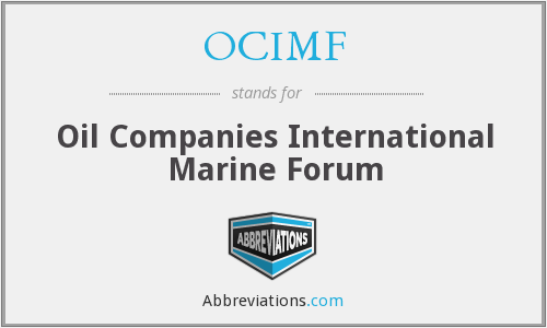 What does OCIMF stand for?