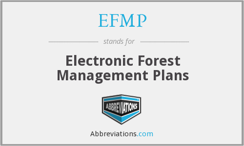 What does EFMP stand for?