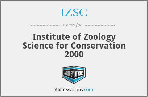 What does IZSC stand for?