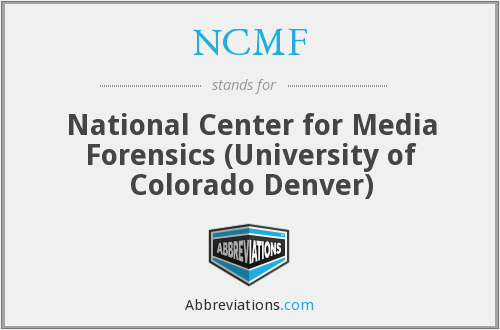 What does NCMF stand for?