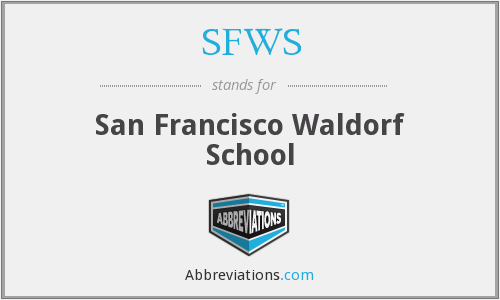 What does SFWS stand for?