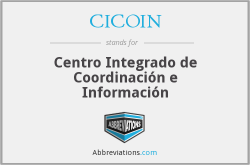 What does CICOIN stand for?