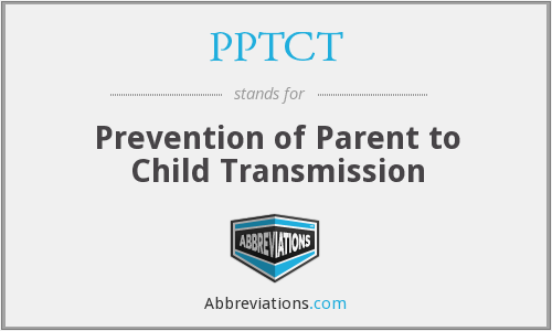 What does PPTCT stand for?