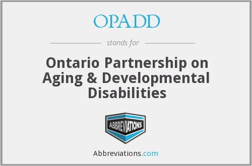 What does OPADD stand for?