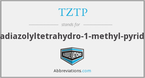 What does TZTP stand for?