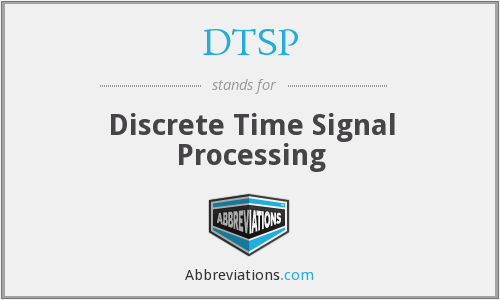 What does DTSP stand for?