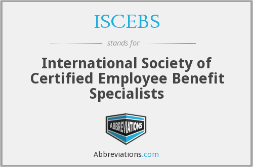 What does ISCEBS stand for?
