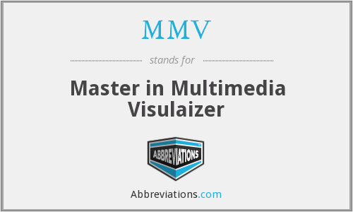What does MMV stand for?