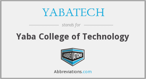What does YABATECH stand for?