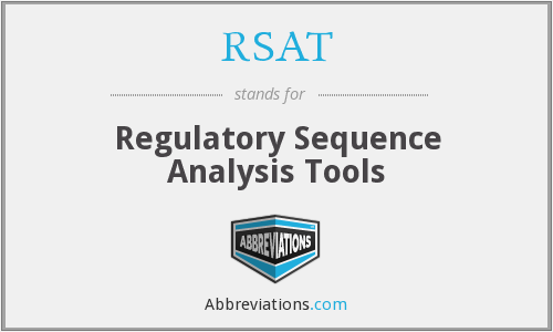 What does RSAT stand for?