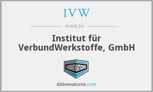 What does IVW stand for?
