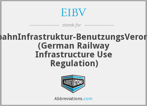 What does EIBV stand for?
