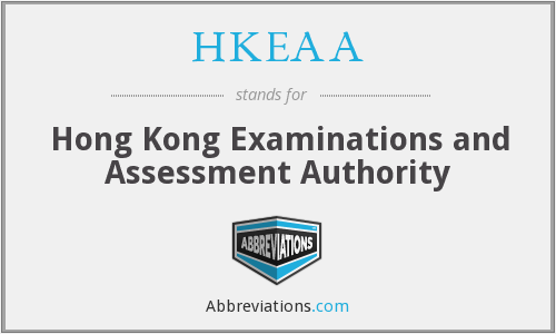 What does HKEAA stand for?
