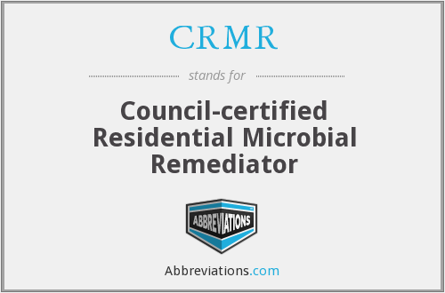 What does CRMR stand for?