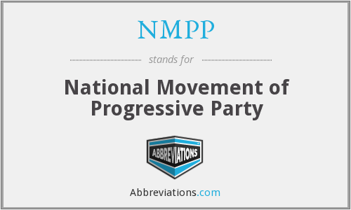 What does NMPP stand for?