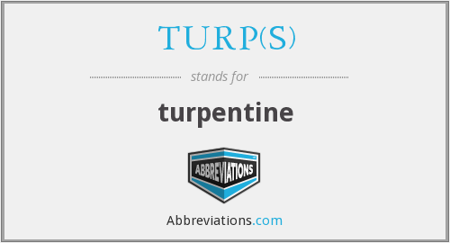 What does TURP(S) stand for?