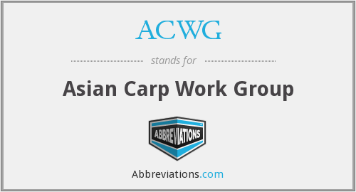 What does ACWG stand for?