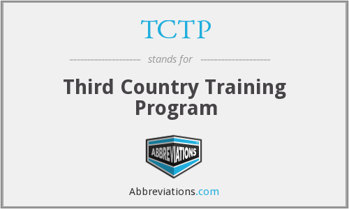 What does TCTP stand for?