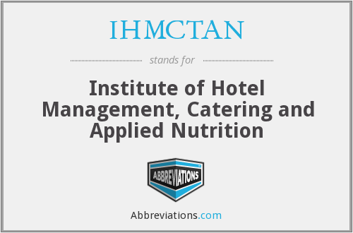 What does IHMCTAN stand for?