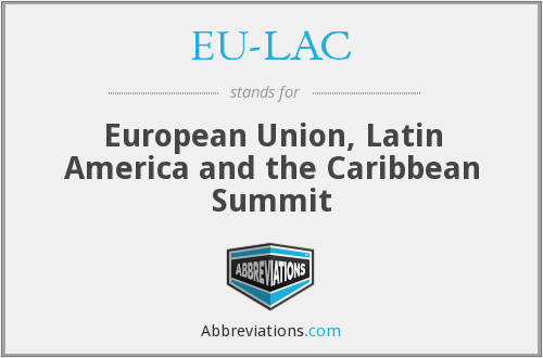 What does EU-LAC stand for?
