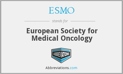 What does ESMO stand for?