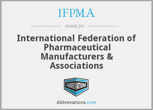 What does IFPMA stand for?