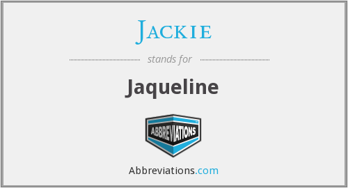 What does JACKIE stand for?