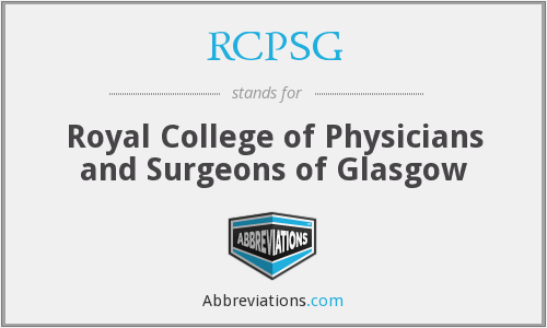What does RCPSG stand for?