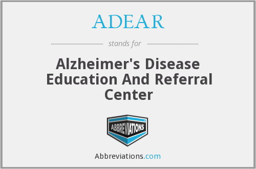 What does ADEAR stand for?