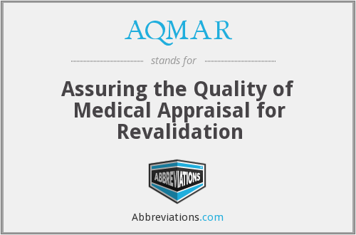 What does AQMAR stand for?