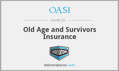 What does OASI stand for?