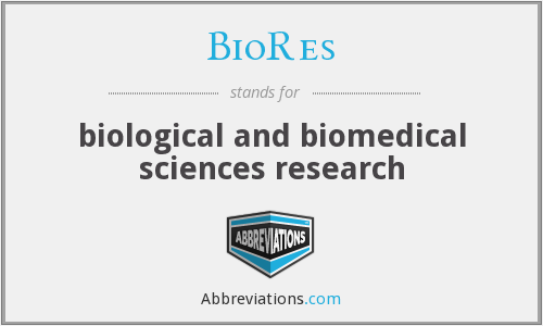 What does BIORES stand for?
