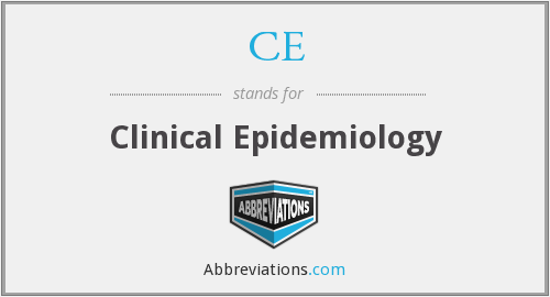 What does C.E. stand for?