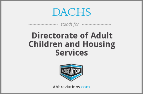 What does DACHS stand for?