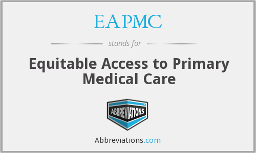 What does EAPMC stand for?